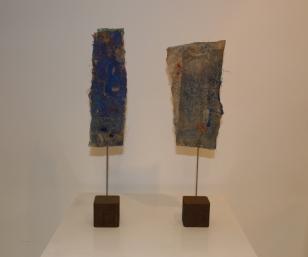 Titel: 'Duo' blauw, 2014