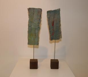 Titel: 'Duo' zeegroen, 2014