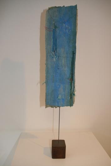 Titel: 'Solo' blauw/groen, 2014